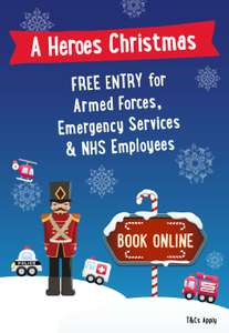 FREE entry for Armed Forces, Emergency Services and NHS Employees @ Twycross Zoo