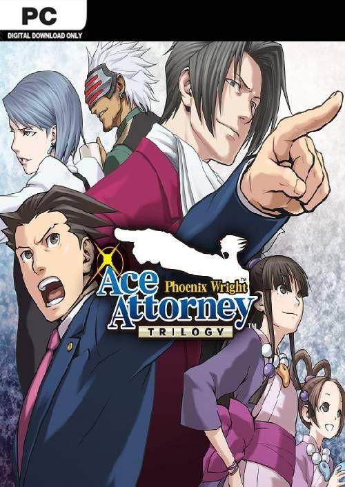 CD Keys Phoenix Wright: Ace Attorney Trilogy PC Steam Key. £15.49
