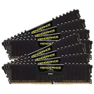 Corsair Vengeance LPX 64 GB (8X 8GB), DDR4, 2133 MHz, C13 Black - £156.49 delivered @Amazon.it (£150.69 with fee free card)