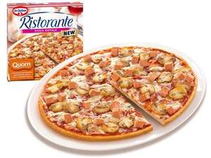 Two for £1.50 Dr Oetkers Quorn pizza with mushroom and garlic sauce in store Wakefield Fultons