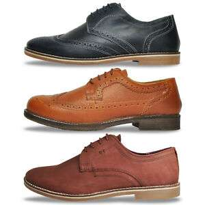 Red Tape REAL LEATHER Mens Brogues Oxford Dress Shoes £16.99 at expresstrainers eBay