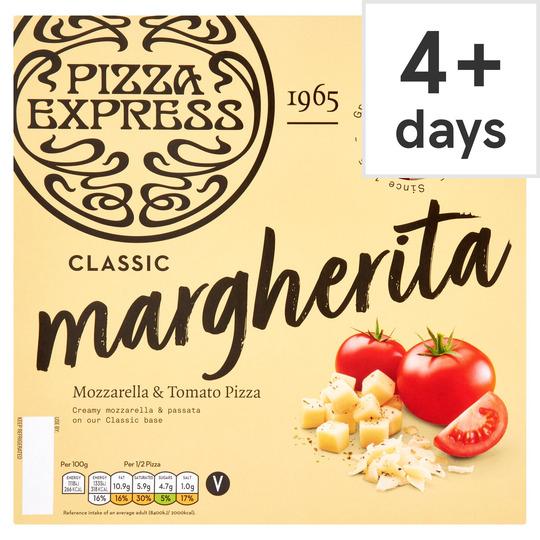 Pizza Express Margherita Pizza 245G £2.50 @ Tesco