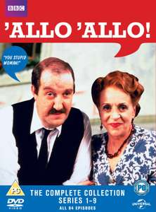 'Allo 'Allo: The Complete Series 1-9 (Box Set) [DVD] £10.60 (9.54 With First Sig Up) @ Zoom.co.uk