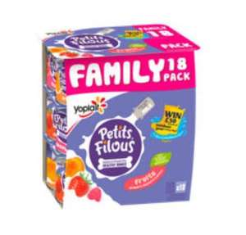 Petits Filous Apricot, Strawberry & Raspberry Yogurt £2 @ Asda