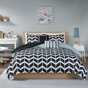 King Size Reversible Duvet & Pillowcase Set £6.99 prime / £11.48 non prime @ Sold by SCM HOME and Fulfilled by Amazon