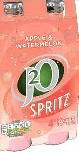 4 pack of J2O apple/watermelon £1 at Poundstretcher Chard, somerset