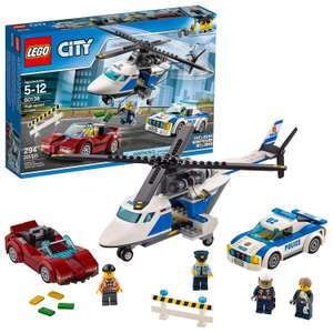 LEGO 60138 City Police High-speed Chase Playset, Helicopter Toy and Sports Car, Crook's Escape Set £12.50 (+£4.49 NP) Delivered @ Amazon