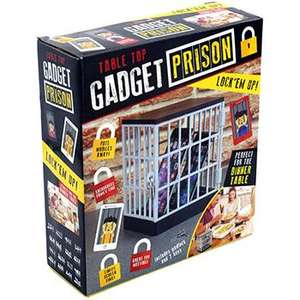 Table Top Gadget Prison - £3.75 (With Code) @ The Works ( Free Collection)