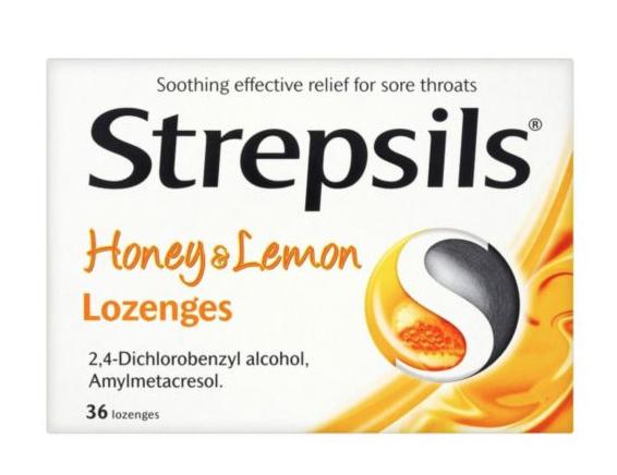 Strepsils 3*36 Honey & lemon lozenges @ Costco Hayes