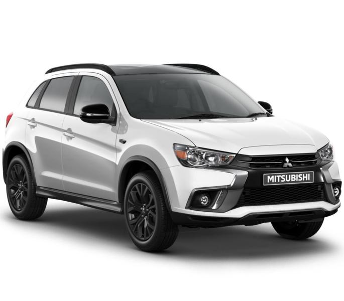 Del miles Mitsubishi ASX Black Edition £16,999 with 3yrs free servicing & 5yrs warranty @ Hawkins Motors
