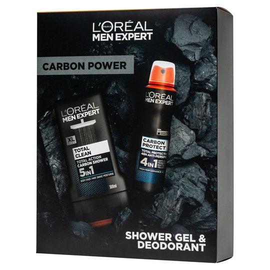 L'Oreal Men Expert Carbon Power 2 Piece Gift Set, Now £3.50 @ Tesco