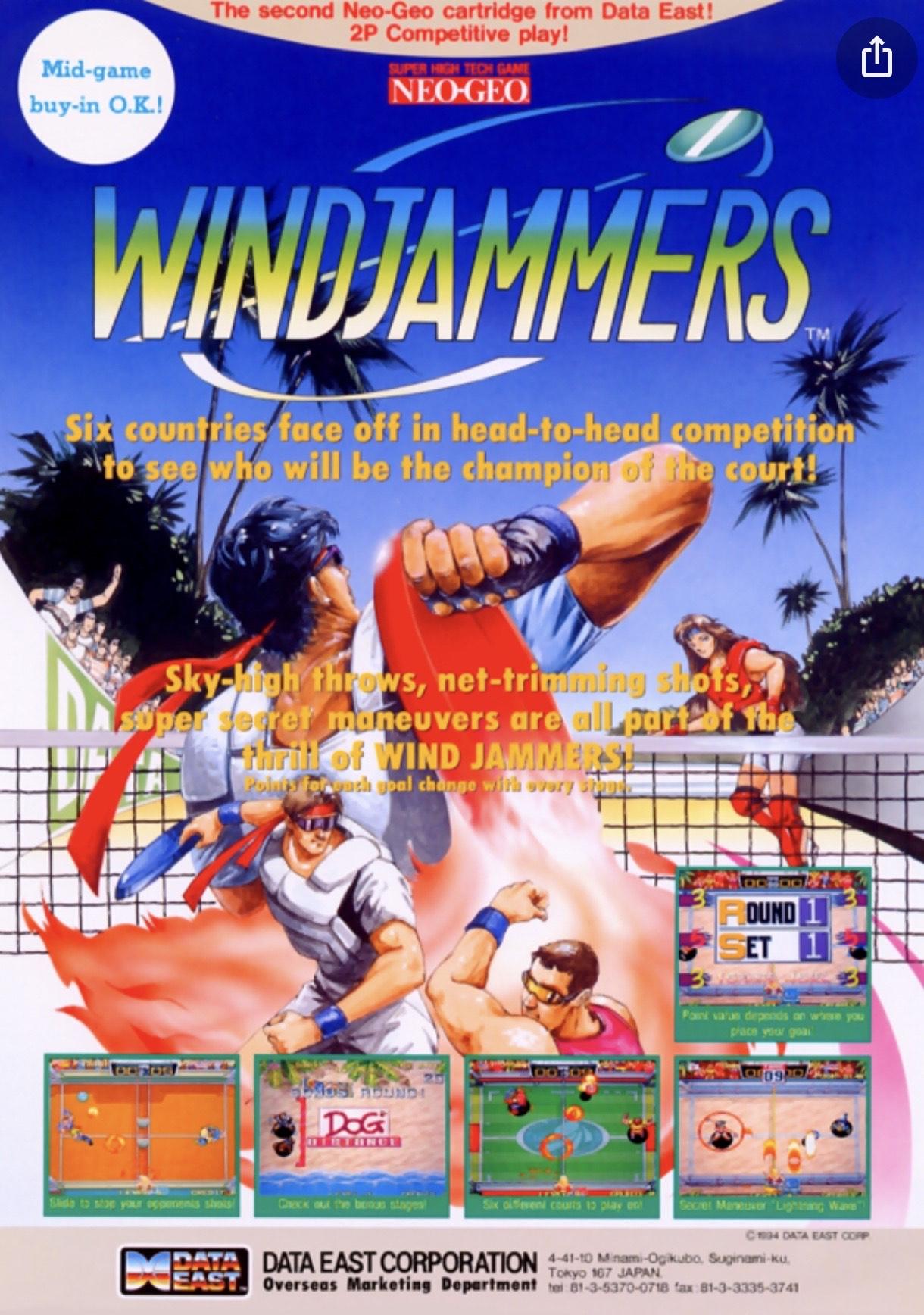 Windjammers (PS4/PS Vita) £4.79 @ playstation store