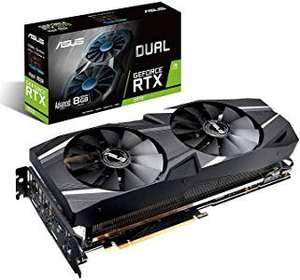 ASUS Dual RTX2070-A8G-EVO GeForce RTX 2070 Graphics Cards (GeForce RTX 2070) - £406.75 - Sold by CCL via Amazon