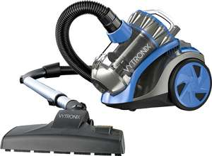 VYTRONIX CYL01 Powerful Compact Cyclonic Bagless Cylinder Vacuum Cleaner @ ebay via Sold by direct-vacuums