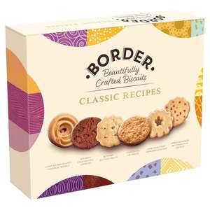Border Biscuits Sharing Pack 400G - £2.50 at Tesco and Waitrose
