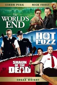 3 Flavours Cornetto Trilogy...inc Shaun of the Dead 4K...others likely to convert soon? £14.99 @ iTunes