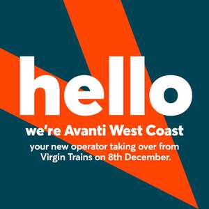 500 nectar points with first train ticket purchase @ Avanti West Coast