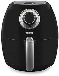 Tower T17005 Air fryer with rapid air circulation system 3.2l black/try and use code GIFT5P for additional£5 off(£26.99).