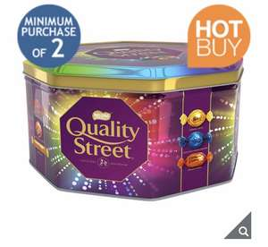 2 X 2KG Nestle Quality Street Big Tin (Minimum Purchase of 2) Works Out £7.44 Per Tin @ Costco