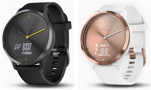 Garmin vivomove HR Hybrid Smart Watch - Black/Seafoam/White £119.99 @ Amazon