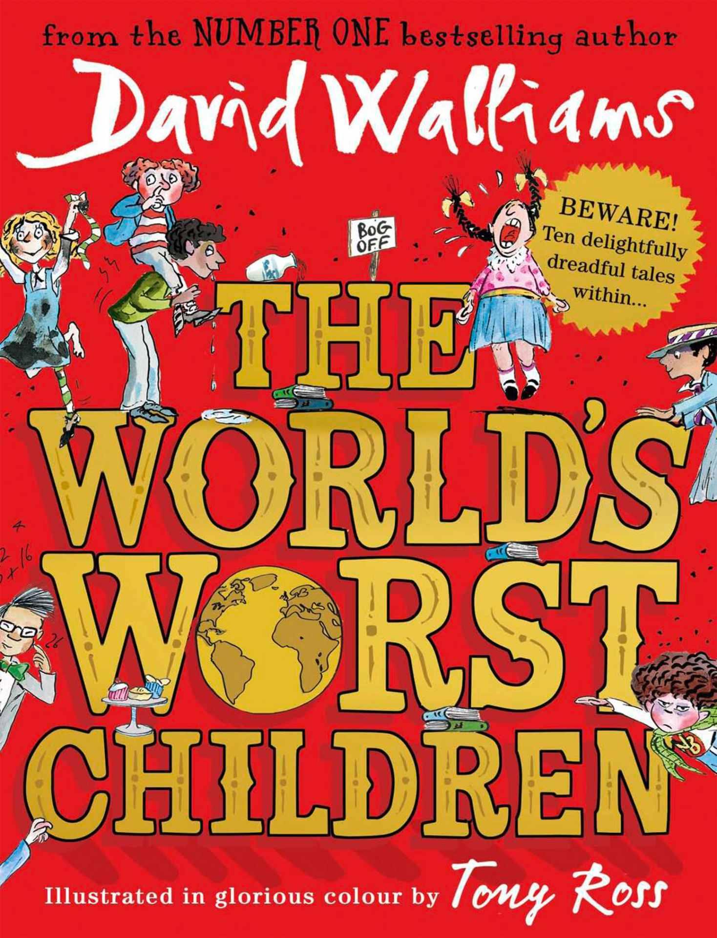The world's worst children 1,2 or 3 Hardback £5.99 each (Prime) / £8.98 (non Prime) at Amazon