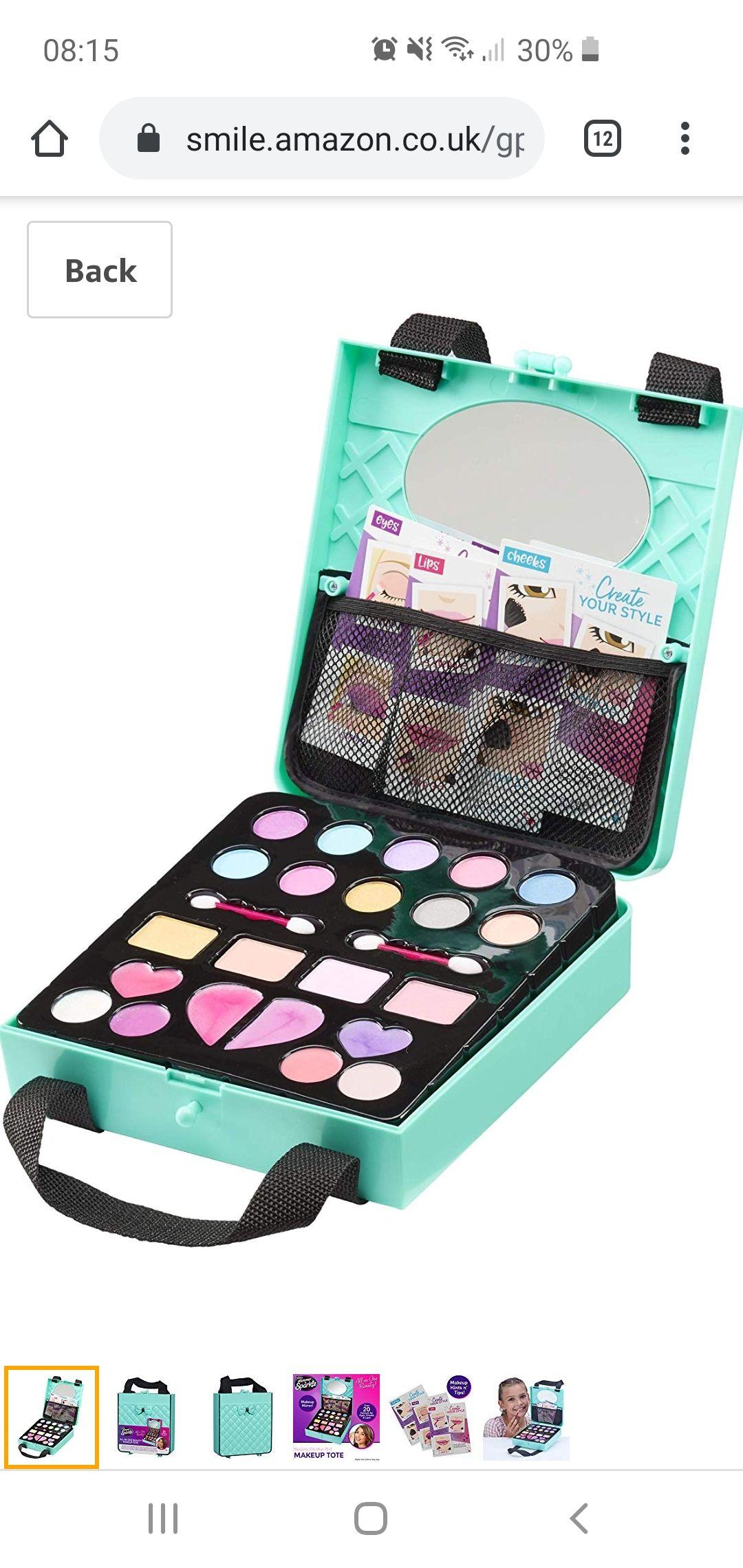 Shimmer & Sparkle Children's Makeup Kit £8.99 @ Amazon (+£4.49 Non-prime)