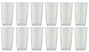 Argos Home Set of 12 Basic Beer Glasses £6 @ argos
