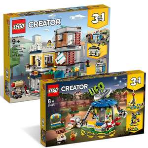 Spend & Save Lego Offers - LEGO Creator Bundle: 31095 and 31097 £66.27 / Newbury Haunted High School - 70425 £66.27 At Checkout @ George