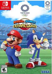 Mario & Sonic at the Olympic Games Tokyo 2020 Switch £39.49 @ CDKeys