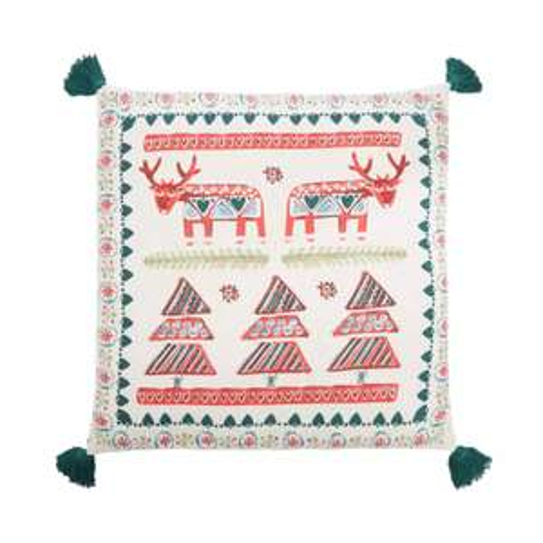 Multicoloured Christmas Scene Cushion £6 - Debenhams - free delivery today