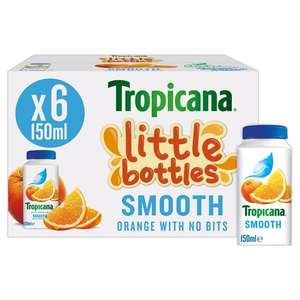 Tropicana Little Bottles Smooth only £1.50 at Heron Foods Perry Barr Birmingham