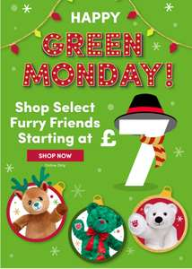 Build a Bear Bears from £7 + £3.99 delivery - free delivery with £30 spend @ Build-a-Bear Workshop