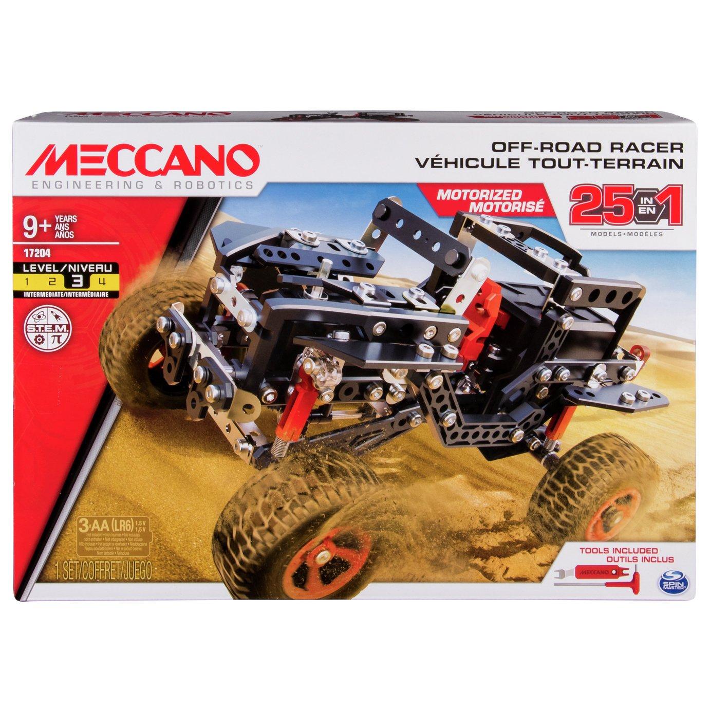 Meccano 25-in-1 Off-Road Racer Motorized Building Set - £33.95 delivered or £30 C&C - Argos