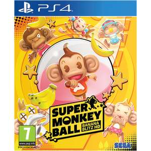 Super Monkey Ball: Banana Blitz HD [PS4] for £19.99 Delivered @ Game