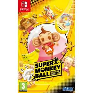 Super Monkey Ball Nintendo Switch £22.95 The Game Collection