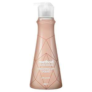 Method Rose Gold Pink Pomelo Washing Up Liquid (Pack of 6) £8.65 @ Amazon Prime / £13.14 Non Prime