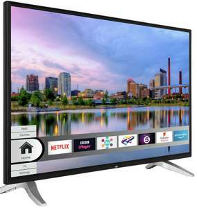 Bush DLED40UHDHDRS 40 Inch Freeview HD 4K UHD LED Smart TV - £179.99 with code @ Argos eBay