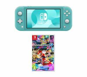 Nintendo Switch Lite & Mario Kart 8 Deluxe Bundle (Blue / Grey / Yellow) £197.10 Delivered @ Currys via eBay