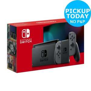 Nintendo Switch Console - Grey with improved battery - Free Click and Collect from Argos £251.99 @ Argos eBay