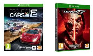 XBOX ONE Tekken 7 & Project Cars 2 Bundle for £4.99 @ Currys PC World
