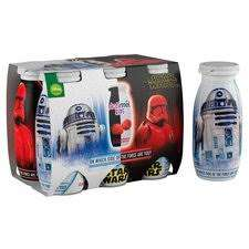 6 x 100g Actimel Kids, Strawberry and Raspberry, Star Wars Edition. 69p Heron Foods Abbey Hulton