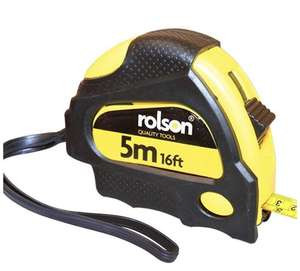 5m Tape Measure £1.50 @ Amazon (+£4.49 Non-prime)