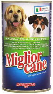 Miglior Cane Best Dog Bowls Chicken/Rice/Vegetables Multipack 12 x 1250 Grams 82p Prime / £5.31 Non Prime at Amazon