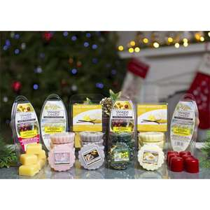 56 Piece Ultimate Christmas Fragrances Wax Melts & Cubes Bonanza Selection Box for £15 (£14.25 for new users) delivered @ Yankee Bundles