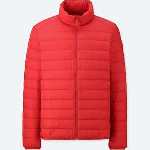 Ultra light down jackets £39.90 from Uniqlo