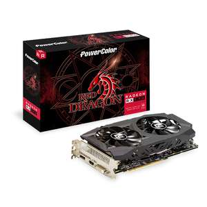 PowerColor Radeon RX 590 Red Dragon 8GB £143.30 delivered at CCL/ebay with code (Free Borderlands 3)