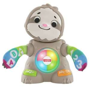 Fisher Price Linkimals Smooth Moves Interactive Sloth Baby Toy, Now £24 *With Code @ Argos ( Free Click & Collect )