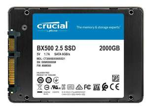 """Crucial BX500 2TB SSD 2.5"""" SATA III (CT2000BX500SSD1) Solid State Drive for £152.95 With Code Delivered @ ideals_uk / Ebay"""