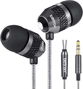 Noise Isolating in Ear Canal Headphones Earphones £9.99 Prime / £14.48 Non Prime Sold by Betron Limited and Fulfilled by Amazon