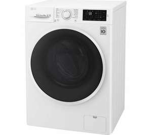 LG F4J609WN NFC 9 kg 1400 Spin Washing Machine - White with 5 Year Warranty £314.10 with code @ Currys ebay